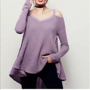 Cold Shoulder Sweater - Free People